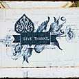 Glam Postcard ... Give Thanks