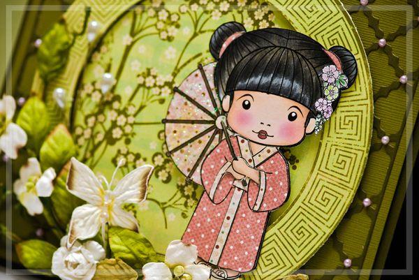Detail - Kimono Marci