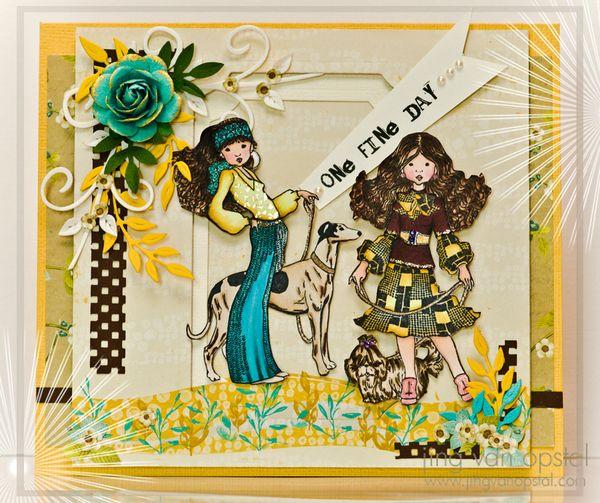 Jing van Opstal Card