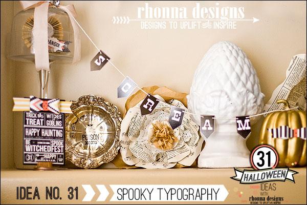 Idea31RhonnaFarrer_SpookyTypography_31HalloweenIdeas_RhonnaDesigns