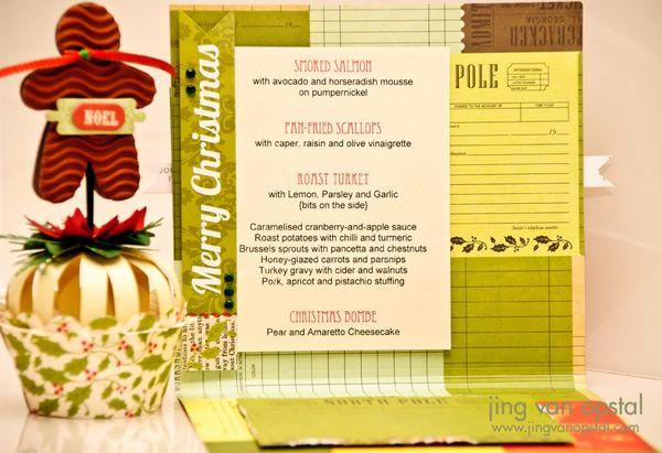 Menu Card - Detail 1