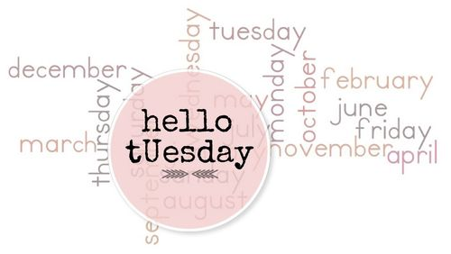 Hello Tuesday 1